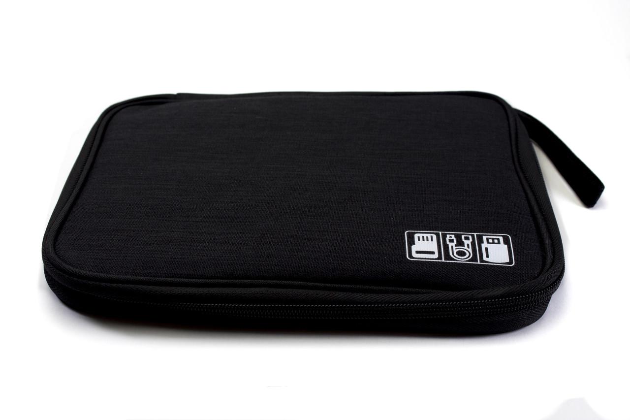 Сумка - органайзер для путешествий Middle Travel Bag, для хранения мелких предметов, кабелей, карт памяти