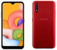 Samsung Galaxy A01 Red, фото 1