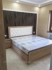 Кровать на заказ в Алматы, фото 2
