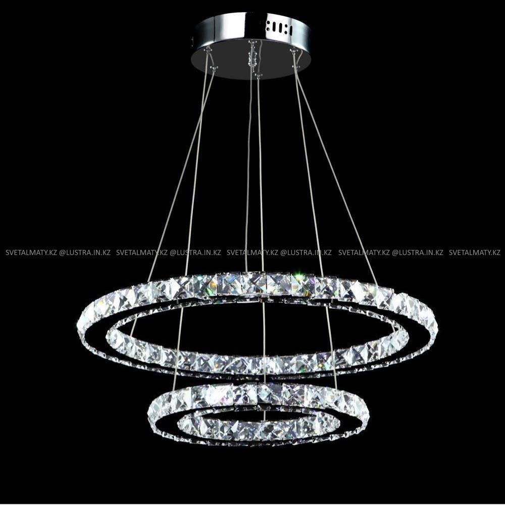 Хрустальная люстра потолочная подвесная LED