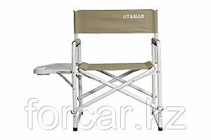 Кресло Атаман директорское со столом алюминий