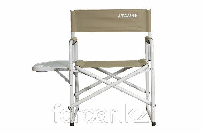 Кресло Атаман директорское со столом алюминий, фото 2
