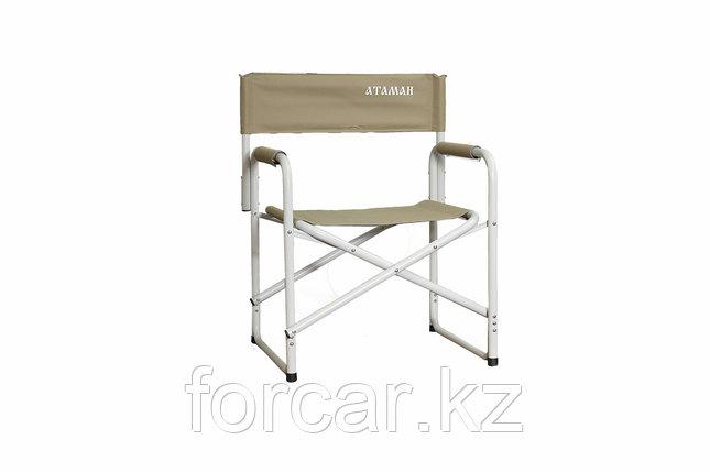 Кресло Атаман директорское алюминий, фото 2