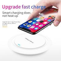 Беспроводная зарядка для мобильных телефонов, смартфонов, планшетов и других гаджетов, ID18Q - фото 1