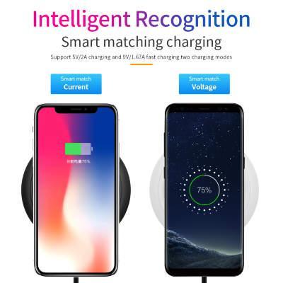 Беспроводная зарядка для мобильных телефонов, смартфонов, планшетов и других гаджетов, ID18Q - фото 2