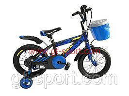 Велосипед Phoenix алюминиевый сплав оригинал детский с холостым ходом 16 размер