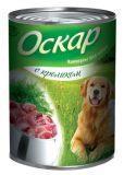 Оскар 350 гр С кроликом консервы для собак