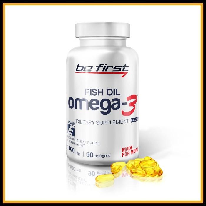 Be First Омега-3+витамин Е 90капсул