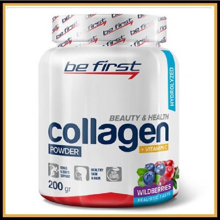 Be First Collagen+vitamin C 200гр (Лесные ягоды)
