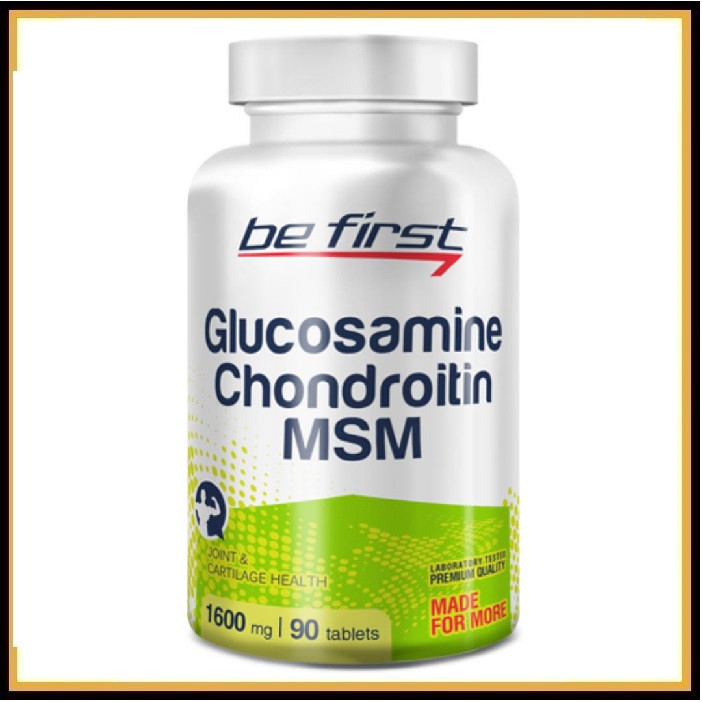 Be First Glucosamine-Chondrotin-MSM (90таб)