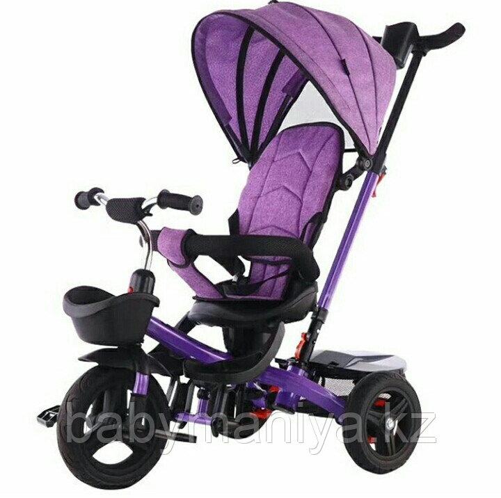 Велосипед детский трехколесный H6018 фиолетовый