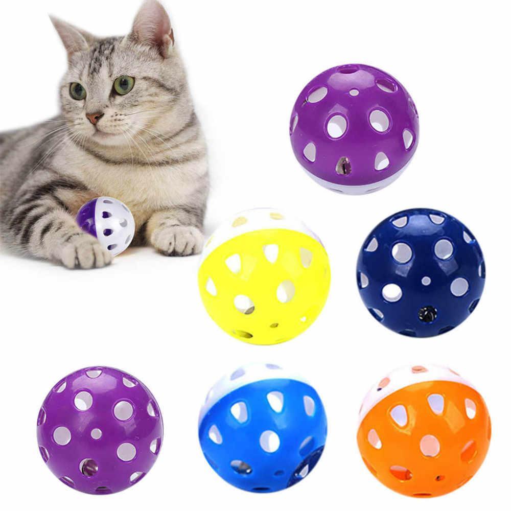 Игрушка для кошек Шарик-погремушка с бубенчиком