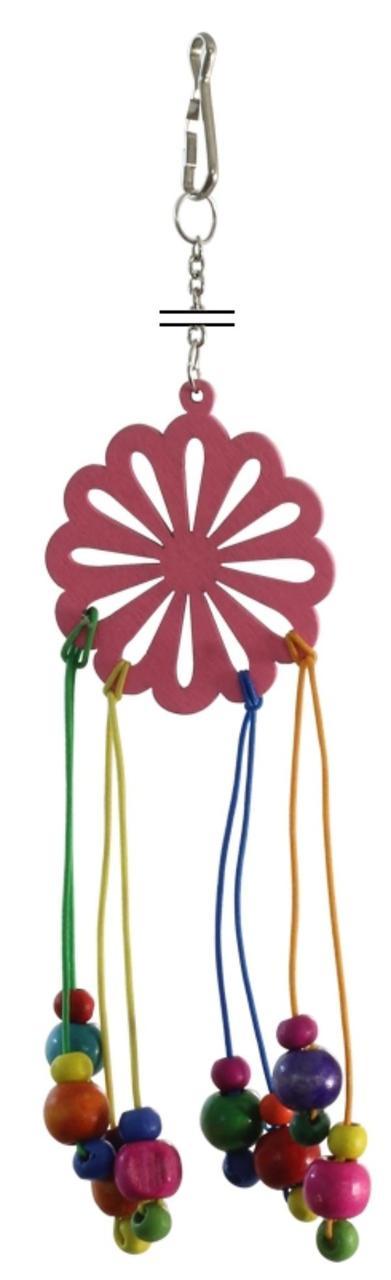 Игрушка для птиц Цветик-семицветик
