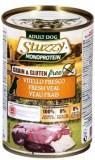 Stuzzy Monoprotein, 400г, свежая телятина, консервы для собак