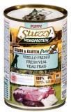 Stuzzy Monoprotein, 400г, свежая телятина, консервы для щенков
