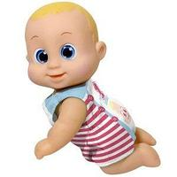 Bouncin' Babies Игрушка Bouncin' Babies Кукла Баниэль 16 см ползущая