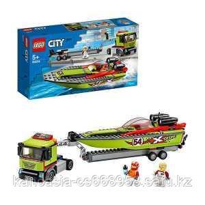 LEGO Конструктор Город  Транспортировщик скоростных катеров