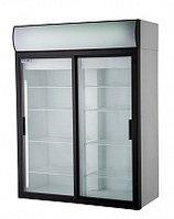 Холодильный шкаф DM110Sd-S с раздвижными дверьми купе