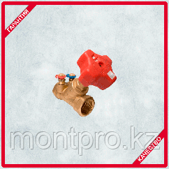Балансировочный клапан 4017М с измерительными клапанами MF Kvs, 2,00 м3/ч  Герц (HERZ)