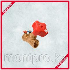 Балансировочный клапан 4017 МL с двумя клапанами MF Kvs, 0,88 м3/ч  Герц (HERZ)
