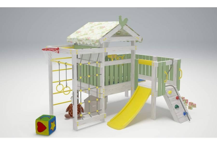 Игровой комплекс-кровать Савушка Baby-7