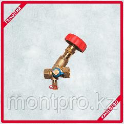 Балансировочный клапан 4117М с двумя измерительными клапанами LF Kvs, 4,75 м3/ч  Герц (HERZ)