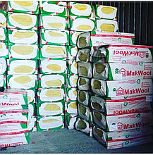 Мин плита (базальтная вата) Плотность 50кг/м3  3,6м2  Маквул MAKWOOL