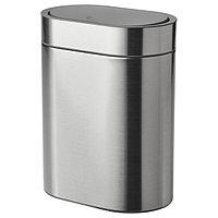 Контейнер с крышкой д/мусора БРОГРУНД 4 литра ИКЕА, IKEA, фото 1