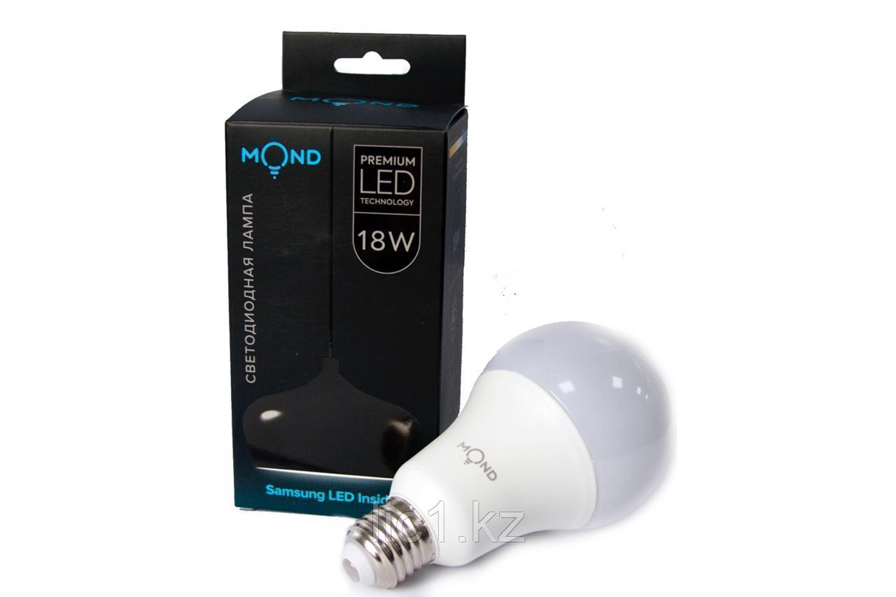 Лампа MVL5 MOND LED 18W (холодный цвет) E27