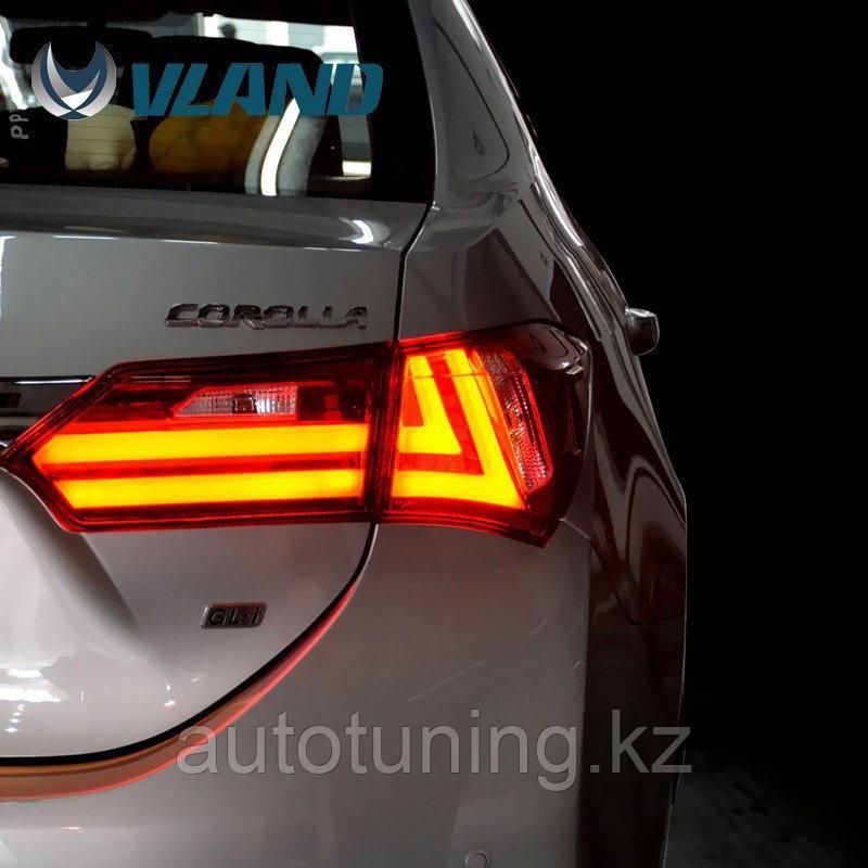 Светодиодные фонари в стиле LEXUS на Toyota Corolla E18 c 2013 по 2018 г.