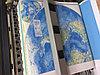 Печать на обоях карта мира