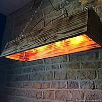 Дизайнерский светильник Wood - 1