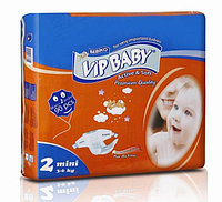 Подгузники VIP BABY MINI (3-6 кг) 90 штук