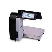 Весы с печатью этикеток МАССА-К МК-6(15,32).2-RL-10-1, фото 1