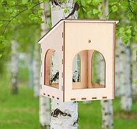 Кормушка для птиц Гнёздышко 15 х 14 х 17 см