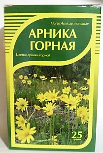 Арника горная, цветы, 25гр