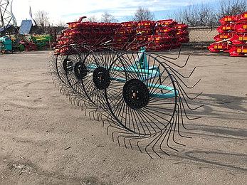 Грабли-ворошилки навесные OGR 4х колесные 2.6м (усиленные), фото 2