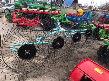 Грабли-ворошилки навесные OGR 5ти колесные 3.3м (усиленные), фото 2