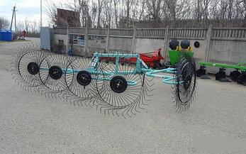 Грабли-ворошилки двухсторонние OGR 8ми колесные 6.3м (усиленные), фото 2