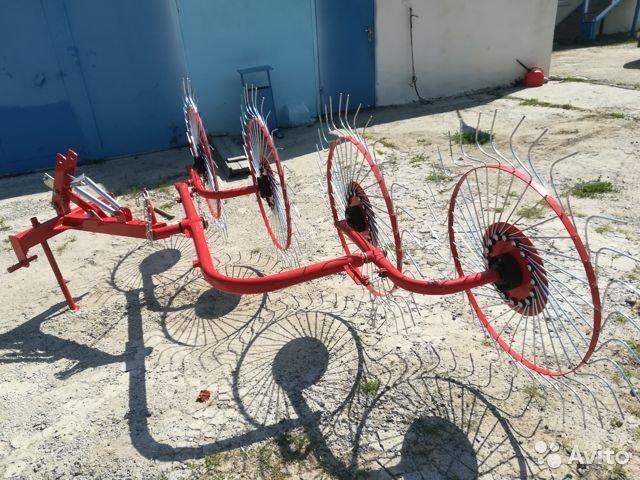 Грабли-ворошилки колесно-пальцевые навесные ГВН-4 (D-Pol)