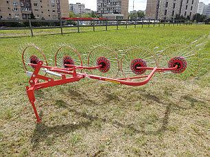 Грабли-ворошилки колесно-пальцевые навесные ГВН 2.4м 3.0м (D-Pol), фото 3