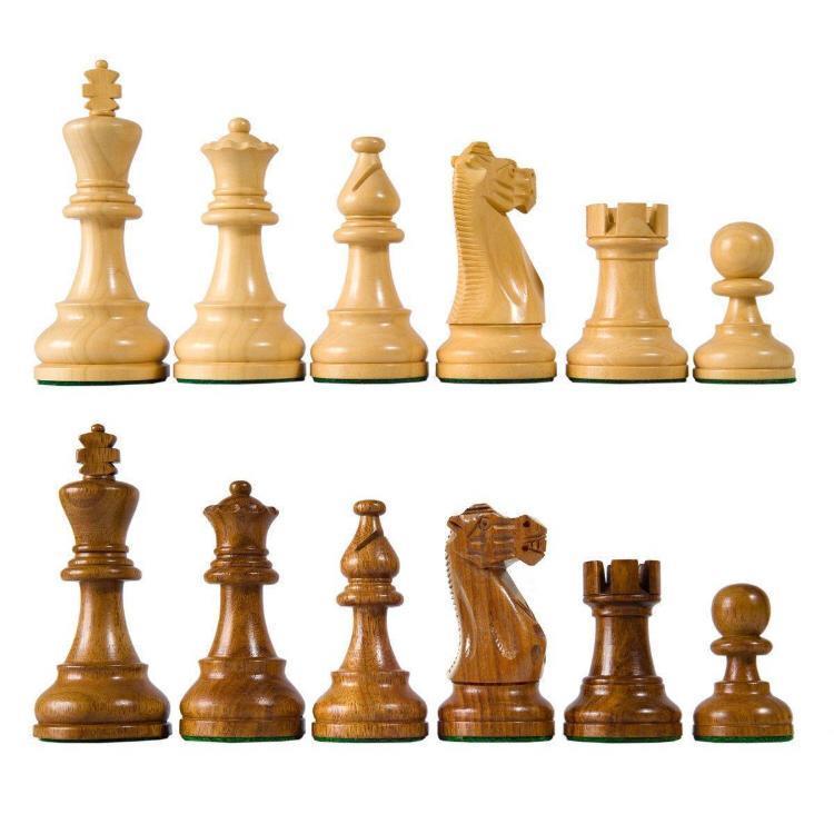 Шахматные фигуры деревянные средный