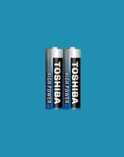 Батарейки Toshiba HIGH POWER LR6GCP SP-2 AA