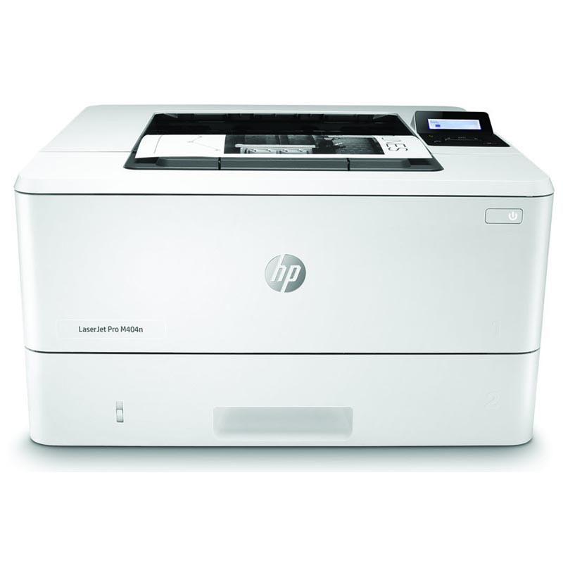 Лазерный принтер  HP LaserJet Pro M404dn для черно-белой печати