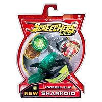 Шаркоид Машинка-трансформер Дикие Скричеры Screechers Wild Sharkoid 37758
