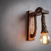 Дизайнерский светильник Wood Sconces Retro