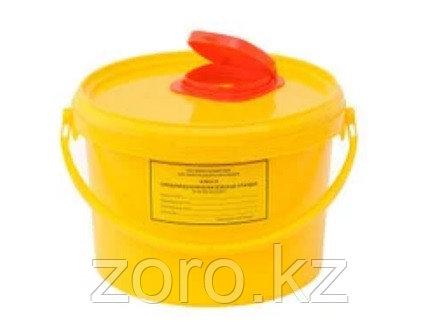Емкость для сбора острого медицинского инструментария 6 л