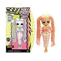 L.O.L. Surprise O.M.G Lights Dazzle ЛОЛ ОМГ ДэзлиНеоновая кукла