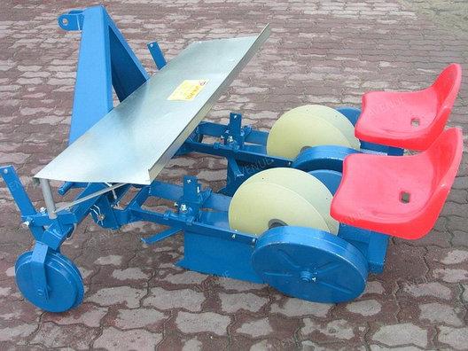Машина рассадопосадочная 2-х рядная D-POL,навесная, фото 2