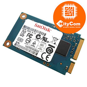 SSD диск для моноблока, мини ПК, ноутбука, POS терминала, SanDisk 32 Гб mSATA Арт.5048